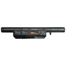 Аккумуляторная батарея Clevo W650 W650BAT-6 4400mahr