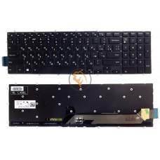 Клавиатура для ноутбука Dell Inspiron 15 7567 7570 7566 без рамки, черная RU