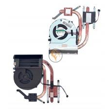 Система охлаждения Lenovo Ideapad Z480, Z485, Z580 5V 0,4А 4-pin SUNON