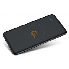 QI беспроводной внешний аккумулятор Tollcuudda Power Bank 10000mAh черный