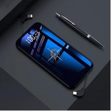 QI беспроводной внешний аккумулятор Tollcuudda K6 Power Bank 10000mAh Type-C черный