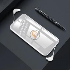 QI беспроводной внешний аккумулятор Tollcuudda K6 Power Bank 10000mAh Type-C белый