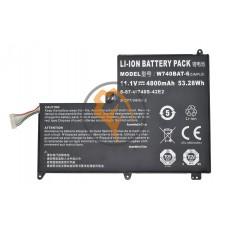 Оригинальная аккумуляторная батарея Clevo S413 53.28Wh