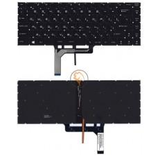 Клавиатура для ноутбука MSI GS65, GS65VR с подсветкой, черная RU
