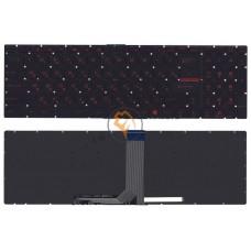 Клавиатура для ноутбука MSI GT72 без подсветки, черная RU
