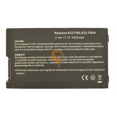 Аккумуляторная батарея Asus A32-F80 4400mAh
