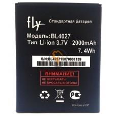 Оригинальная аккумуляторная батарея Fly IQ4410 BL4027 2000mAh
