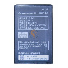 Оригинальная аккумуляторная батарея Lenovo A228 BL203 1500mAh