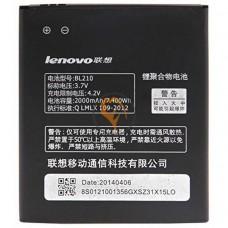 Оригинальная аккумуляторная батарея Lenovo A536 BL210 2000mAh