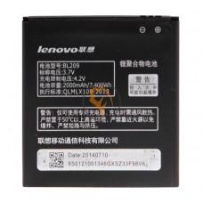 Оригинальная аккумуляторная батарея Lenovo A516 BL209 2000mAh