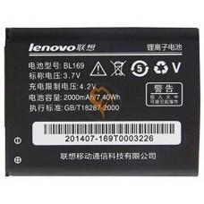 Оригинальная аккумуляторная батарея Lenovo A789 BL169 2000mAh